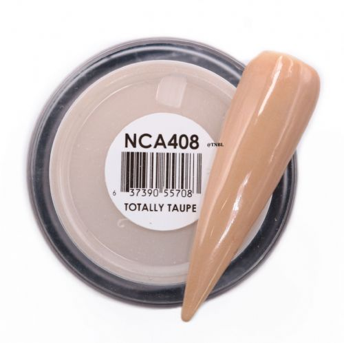 GLAM AND GLITS NAKED COLOR ACRYLIC - NCAC408 TOTALLY TAUPE